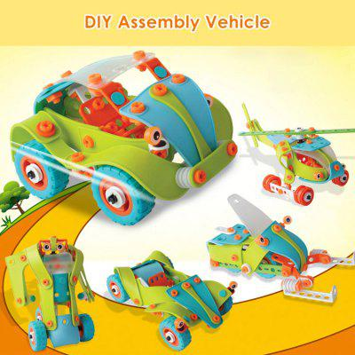5 Model Car Educational 3D Puzzle Building Block Kit