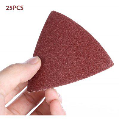 YYP - 80S 82mm 25PCS Triangular Hook Sanding Sheet