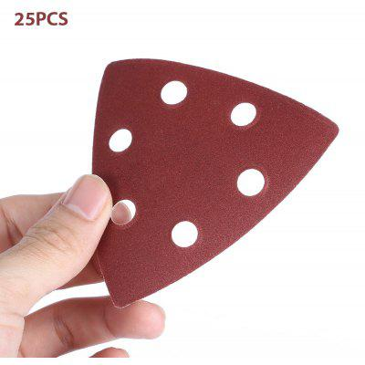 YYP - 90S 92mm 25PCS Triangular Hook Sanding Sheet