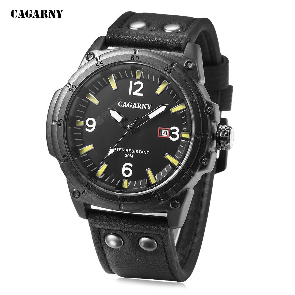CAGARNY 6853 Male Quartz Watch