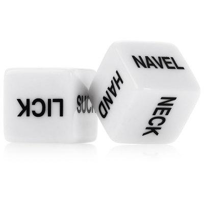 2pcs Humour Sex Dice Funny Toys