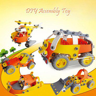 Transformable Vehicle DIY Assembly Kit