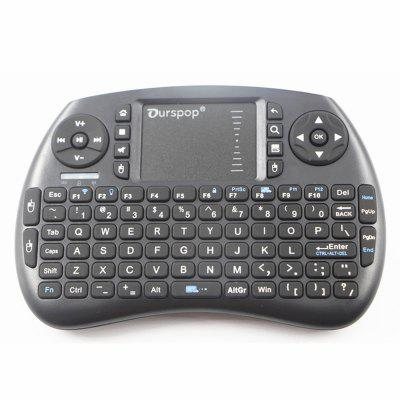OURSPOP R7 USB 2.0 2.4G Wireless Keyboard
