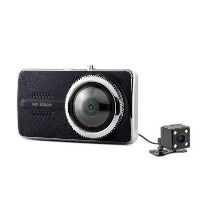 Dome Y900 1080P FULL HD Double Camera Car DVR
