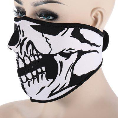 CS Skull Mask Windproof Face Guard for Outdoor Cycling full face cover mask winter ski mask beanie cs hat windproof neck warmer for outdoor snowboard ski motorcycle for christmas gift