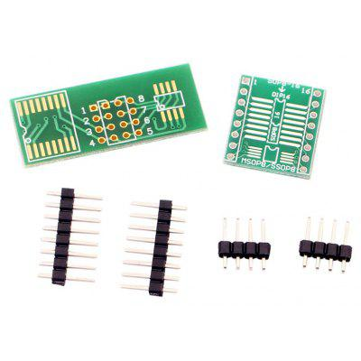 Buy BLUE AND GREEN Excellent quality SOP8 DIP8 Simple Circuit Board Module Converter for $1.50 in GearBest store