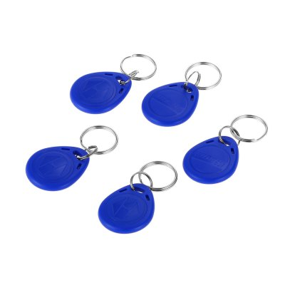 XSC 5PCS Inductive Key Chain Access Card
