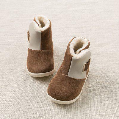 Paired dave bella Winter Woolen Snow Boots