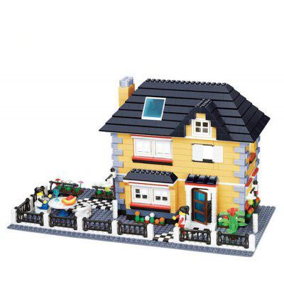 ABS Cartoon Building Brick - 909pcs / set