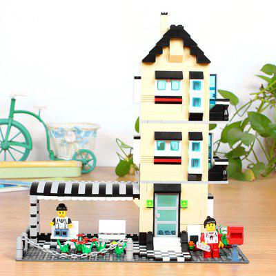 ABS Cartoon Building Brick - 546pcs / set