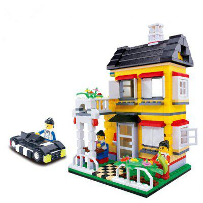 ABS Cartoon Building Brick - 390pcs / set