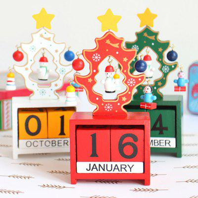Christmas Festival Calendar Table Decoration