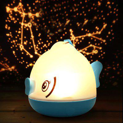 3D LED Night Light Projector Romantic Atmosphere Lamp