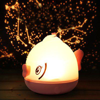 3D LED Night Light Projector Romantic Atmosphere Lamp Home Decoration
