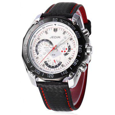JEDIR 1007 Fashion Decorative Sub-dial Men Quartz Watch