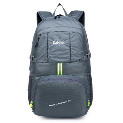 Kabden 35L Travel BackpackBackpacks<br>Kabden 35L Travel Backpack<br><br>Bag Capacity: 35L<br>Brand: Kabden<br>Capacity: 31 - 40L<br>Features: Foldable, Water Resistance, Ultra Light, Laptop Bag<br>For: Traveling, Sports, Casual, Camping<br>Gender: Unisex<br>Material: Nylon<br>Package Contents: 1 x Kabden Travel Backpack, 1 x Kabden Travel Backpack<br>Package size (L x W x H): 20.00 x 18.00 x 4.00 cm / 7.87 x 7.09 x 1.57 inches, 20.00 x 18.00 x 4.00 cm / 7.87 x 7.09 x 1.57 inches<br>Package weight: 0.3800 kg, 0.3800 kg<br>Product size (L x W x H): 31.00 x 21.00 x 51.00 cm / 12.2 x 8.27 x 20.08 inches, 31.00 x 21.00 x 51.00 cm / 12.2 x 8.27 x 20.08 inches<br>Product weight: 0.3100 kg, 0.3100 kg<br>Strap Length: 45 - 90cm, 45 - 90cm<br>Style: Fashion<br>Type: Hiking