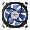 cheap Aigo 12CM Computer Case Cooler with LED Light for PC
