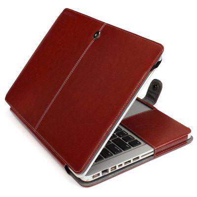 ENKAY PU Leather Protective Case for MacBook Pro 15.4 inch