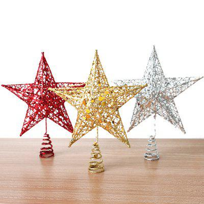 Star Christmas Tree Decoration with Shimmering PowderChristmas Supplies<br>Star Christmas Tree Decoration with Shimmering Powder<br><br>Package Contents: 1 x Christmas Tree Decoration<br>Package size (L x W x H): 17.00 x 17.00 x 22.00 cm / 6.69 x 6.69 x 8.66 inches<br>Package weight: 0.120 kg<br>Product size (L x W x H): 15.00 x 15.00 x 20.00 cm / 5.91 x 5.91 x 7.87 inches<br>Product weight: 0.060 kg