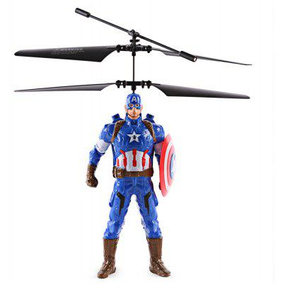 ZOYO Cartoon Hero Style Infrared Control Helicopter