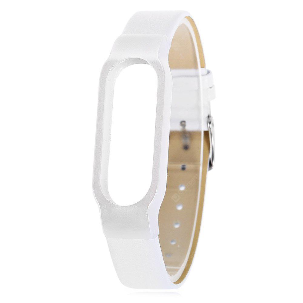 Ultrathin Watch Strap for Xiaomi Miband 2 - White