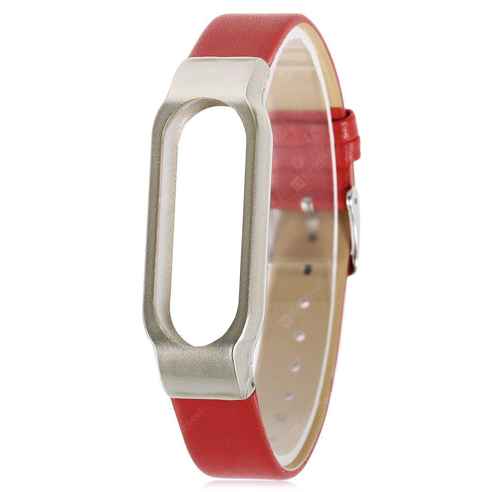 Ultrathin Watch Strap for Xiaomi Miband 2 - Red