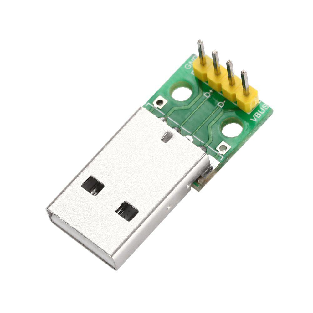 Módulo Adaptador para Tableros USB Macho a 2.54mm DIP 4P
