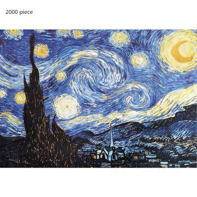 3D Jigsaw Paper Oil Painting Assembly DIY Toy