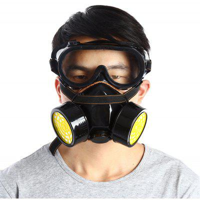 Double Filter Gas Protection Mask for Fire Self-help