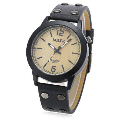 Original Miler 83127 Neutral Quartz Watch with Black Band
