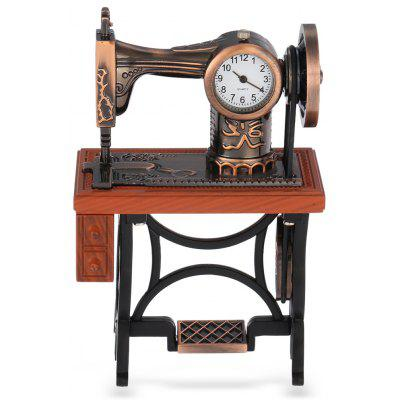 Retro Sewing Machine Shape Quartz Clock