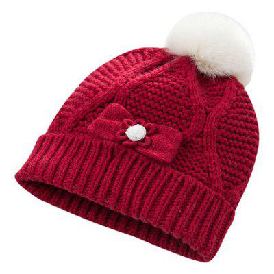 dave bella Winter Infant Baby Cotton Soft Cute Knitted Kid Hat Cap