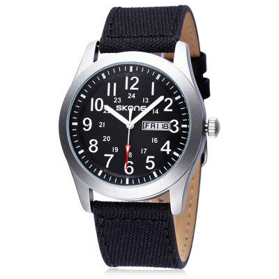 SKONE 1198 Fashion Men Quartz Watch