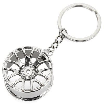Wheel Hub Alloy Key Chain Wallet Decor - 3.54 inchKey Chains<br>Wheel Hub Alloy Key Chain Wallet Decor - 3.54 inch<br><br>Design Style: Fashion<br>Gender: Unisex<br>Materials: Alloy<br>Package Contents: 1 x Keyring<br>Package size: 8.00 x 5.00 x 4.00 cm / 3.15 x 1.97 x 1.57 inches<br>Package weight: 0.035 kg<br>Product size: 3.50 x 2.00 x 9.00 cm / 1.38 x 0.79 x 3.54 inches<br>Stem From: China<br>Theme: Other