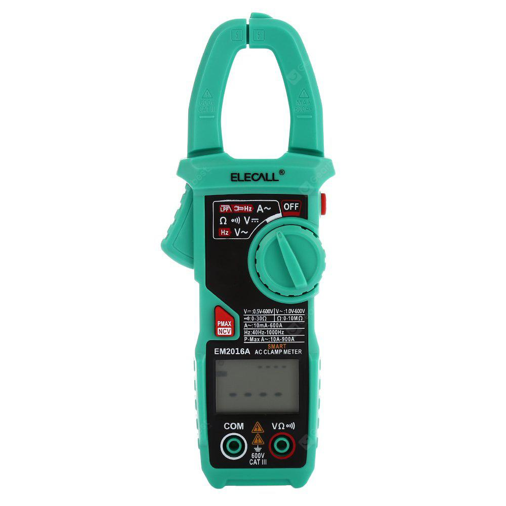 ELECALL EM2016A 6000 Counts Digital Clamp Multimeter