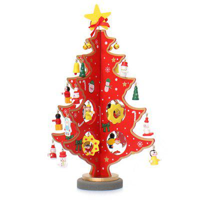 Cartoon Christmas Tree Table Decoration
