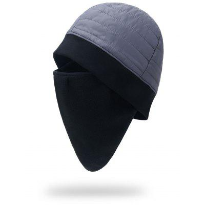 Warm Hat with Face Mask