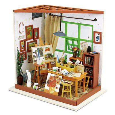 Miniature DIY Studio Handicraft Toy Christmas Present
