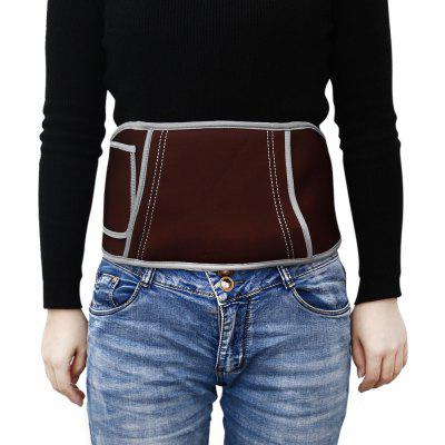 Portable Plush Infrared Self-heating Health Waist Lumbar Belt