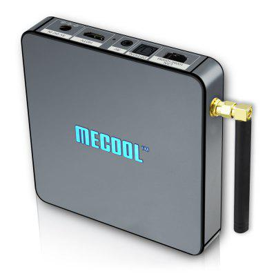 MECOOL BB2 PRO Android 7.1 TV Box 3GB DDR4 + 16GBTV Box<br>MECOOL BB2 PRO Android 7.1 TV Box 3GB DDR4 + 16GB<br><br>5G WiFi: Yes<br>Antenna: Yes<br>Audio format: WMA, WAV, TrueHD, OGG, MP3, HD, FLAC, DDP, APE, AAC<br>Bluetooth: Bluetooth4.0<br>Brand: MECOOL<br>Camera: Without<br>Core: Octa Core<br>CPU: Amlogic S912<br>Decoder Format: H.265, HD MPEG4, H.264<br>DVD Support: No<br>External Subtitle Supported: Yes<br>GPU: ARM Mali-T820MP3<br>HDMI Function: CEC<br>HDMI Version: 2.0<br>Interface: USB2.0, AV, TF card, SPDIF, DC 5V, HDMI, RJ45<br>Language: Multi-language<br>Max. Extended Capacity: 32G<br>Model: BB2 PRO<br>Other Functions: Miracast, DLNA, NTSC, PAL, Airplay, 3D Video, 3D Games, External Subtitle<br>Package Contents: 1 x TV Box, 1 x HDMI Cable, 1 x Remote Control, 1 x Power Adaptor, 1 x English User Manual, 1 x WiFi Antenna<br>Package size (L x W x H): 15.50 x 14.50 x 7.00 cm / 6.1 x 5.71 x 2.76 inches<br>Package weight: 0.5250 kg<br>Photo Format: TIFF, PNG, JPEG, GIF<br>Power Consumption.: 8W<br>Power Supply: Charge Adapter<br>Power Type: External Power Adapter Mode<br>Processor: Amlogic S912<br>Product size (L x W x H): 10.90 x 10.90 x 2.10 cm / 4.29 x 4.29 x 0.83 inches<br>Product weight: 0.2060 kg<br>RAM: 3GB<br>RAM Type: DDR4<br>RJ45 Port Speed: 10/100M/1000M RGMII<br>ROM: 16G<br>Support 5.1 Surround Sound Output: No<br>System: Android 7.1<br>System Activation: Yes<br>System Bit: 64Bit<br>TV Box Features: Antenna<br>Type: TV Box<br>Video format: DAT, ASF, MPEG, MPG, RM, RMVB, TS, VOB, AVI, MKV, AVS, ISO, H.264, VP9 Profile-2, WMV, FLV, H.265<br>WIFI: 802.11 b/g/n/ac