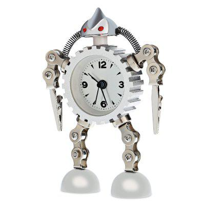 Shape-shifting Robot Gear ClockPocket Watches<br>Shape-shifting Robot Gear Clock<br><br>Available Color: Black,Red,Silver<br>Case material: Stainless Steel<br>Display type: Analog<br>Movement type: Quartz watch<br>Package Contents: 1 x Shape-shifting Robot Gear Clock<br>Package size (L x W x H): 15.00 x 10.00 x 3.50 cm / 5.91 x 3.94 x 1.38 inches<br>Package weight: 0.192 kg<br>Product size (L x W x H): 14.00 x 9.00 x 3.00 cm / 5.51 x 3.54 x 1.18 inches<br>Product weight: 0.137 kg<br>Shape of the dial: Round<br>The dial diameter: 5.8cm<br>The dial thickness: 2cm<br>Watch style: Fashion<br>Watches categories: Alarm Clock
