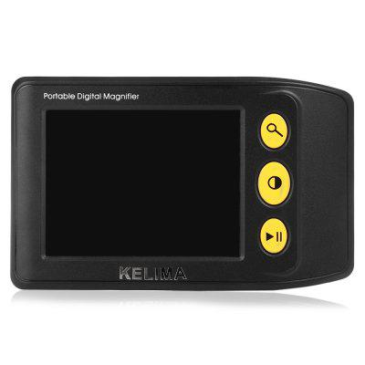 KELIMA 3.5 inch 25x Portable Digital Video Magnifier