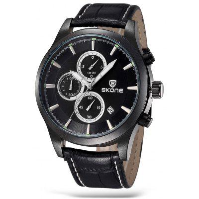 SKONE 1197 Fashion Men Quartz Watch