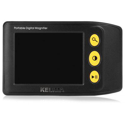 KELIMA 3.5 Zoll 25x tragbare Digital Video Lupe