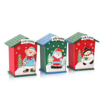Cute Cartoon Christmas Coin Money Bank