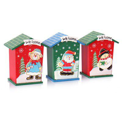 Cute Cartoon Christmas Coin Money Bank for Kid Child