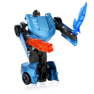 Transformable Transform 3D Hero Alloy Robot Car