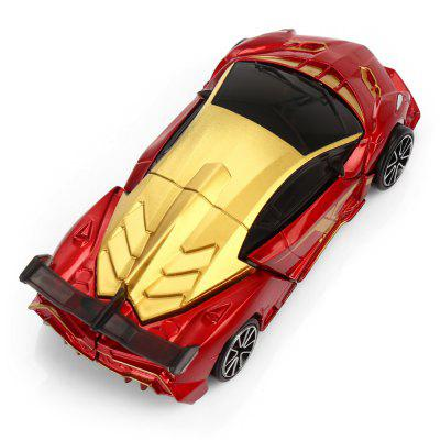 Alloy Transformable Transform 3D Hero Robot CarMovies &amp; TV Action Figures<br>Alloy Transformable Transform 3D Hero Robot Car<br><br>Completeness: Finished Goods<br>Gender: Unisex<br>Materials: Alloy, Plastic<br>Package Contents: 1 x Car Model ( with Weapon )<br>Package size: 17.00 x 6.00 x 15.50 cm / 6.69 x 2.36 x 6.1 inches<br>Package weight: 0.150 kg<br>Product size: 10.00 x 5.00 x 3.00 cm / 3.94 x 1.97 x 1.18 inches<br>Product weight: 0.072 kg<br>Stem From: Europe and America<br>Theme: Movie and TV