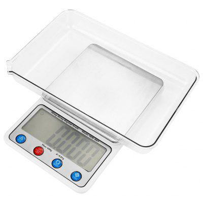 MH - 885 600g 4.5 inch LCD Digital Scale