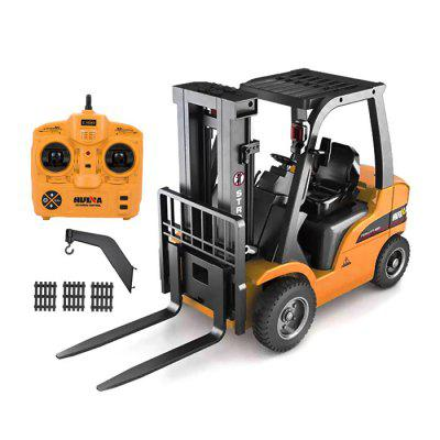 HUINA 1577 2-in-1 RC Forklift Truck / Crane - RTRRC Cars<br>HUINA 1577 2-in-1 RC Forklift Truck / Crane - RTR<br><br>Brand: HUINA<br>Channel: 8-Channels<br>Detailed Control Distance: About 30m<br>Drive Type: Other<br>Features: Radio Control<br>Functions: With music, With light, Turn left/right, Rotation, Forward/backward<br>Material: Electronic Components, Alloy, ABS<br>Package Contents: 1 x RC Forklift Truck, 1 x Transmitter, 1 x 7.2V 400mAh NiCd Battery, 1 x USB Charging Cable, 1 x Alloy Arm with Hook, 3 x ABS Board<br>Package size (L x W x H): 56.40 x 18.70 x 35.60 cm / 22.2 x 7.36 x 14.02 inches<br>Package weight: 5.2200 kg<br>Product size (L x W x H): 50.00 x 17.00 x 29.50 cm / 19.69 x 6.69 x 11.61 inches<br>Product weight: 4.6700 kg<br>Proportion: 1:10<br>Racing Time: 15~30mins<br>Remote Control: 2.4GHz Wireless Remote Control<br>Transmitter Power: 4 x 1.5V AA (not included)<br>Type: Engineering Car